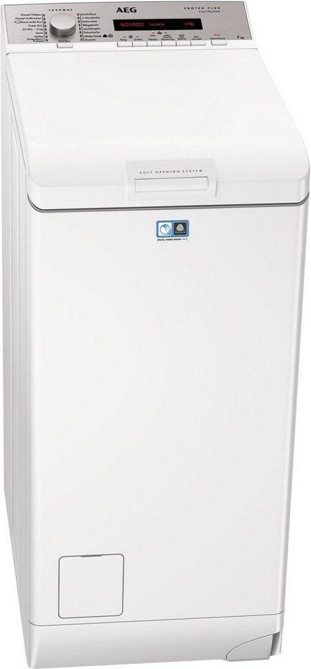 AEG Waschmaschine Toplader L7827TL, A+++, 7 kg, 1200 U/Min in weiß