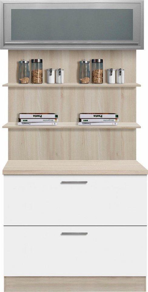 Optifit Küchenbuffet »Kalmar«, Breite 100 cm in weiß