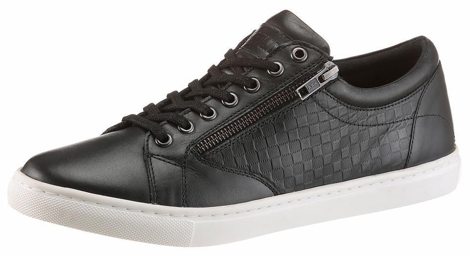 PETROLIO Sneaker in schwarz
