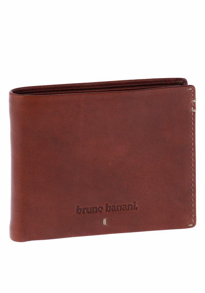 Bruno Banani Geldbörse in Geschenkbox in braun