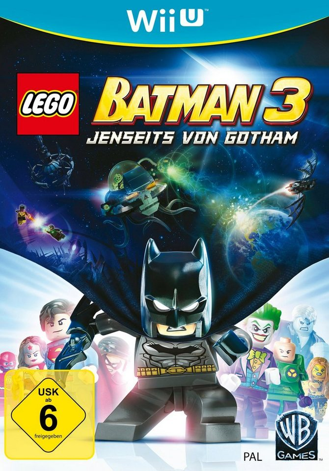 Warner Games Software Pyramide - Nintendo WiiU Spiel »LEGO Batman 3 - Jenseits von Gotham«
