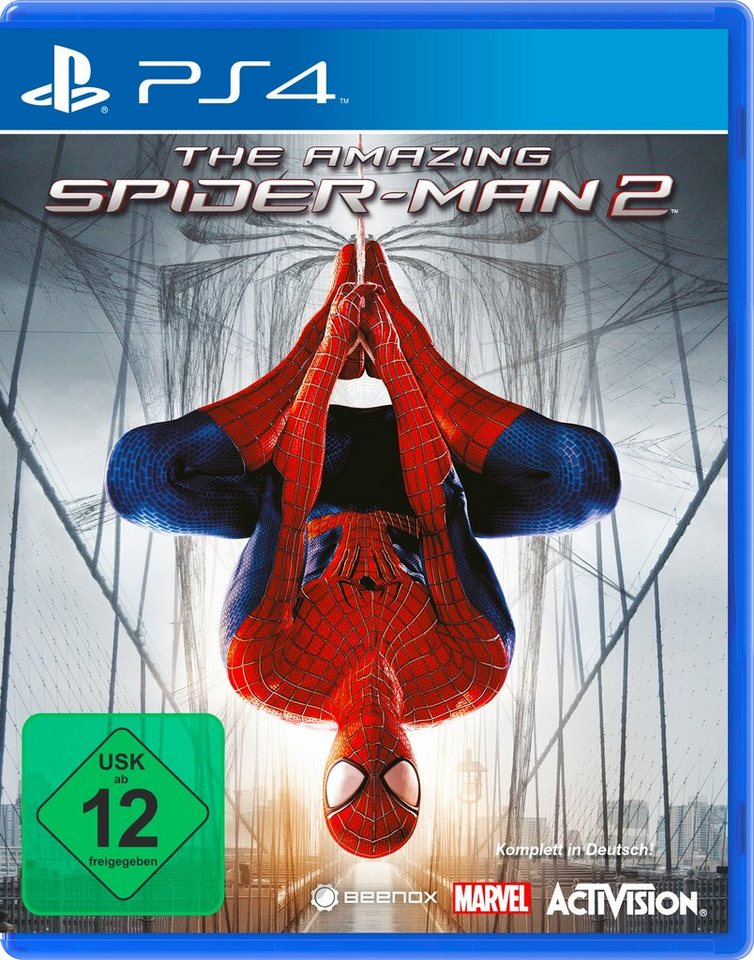 NBG Software Pyramide - Playstation 4 Spiel »The Amazing Spider-Man 2«