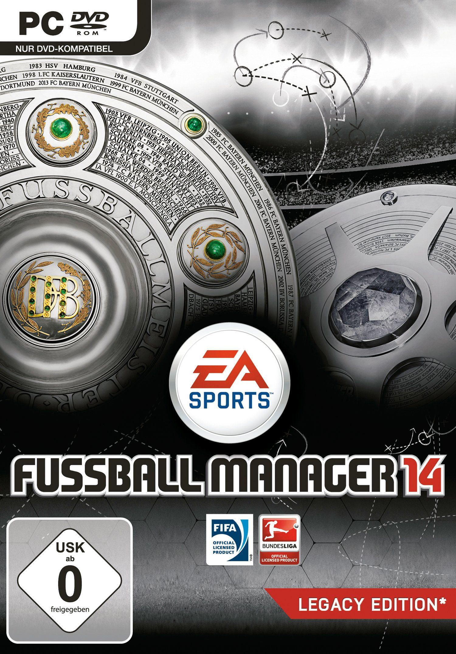 Electronic Arts Software Pyramide - PC Spiel »Fussball Manager 14«