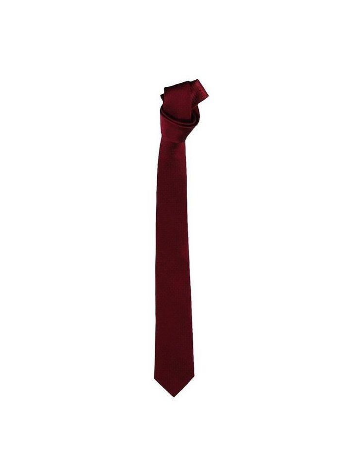 engbers Krawatte in Karminrot