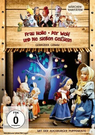 DVD »Augsburger Puppenkiste - Frau Holle / Der Wolf...«