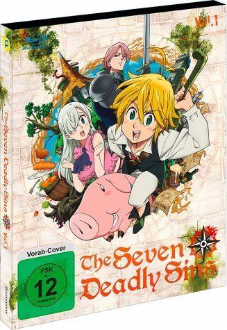 Blu-ray »The Seven Deadly Sins - Box 1 (2 Discs)«