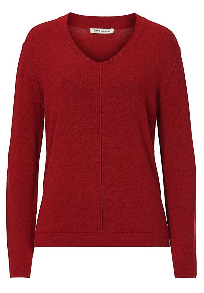 Betty Barclay Strickpullover in Chili Red - Rot
