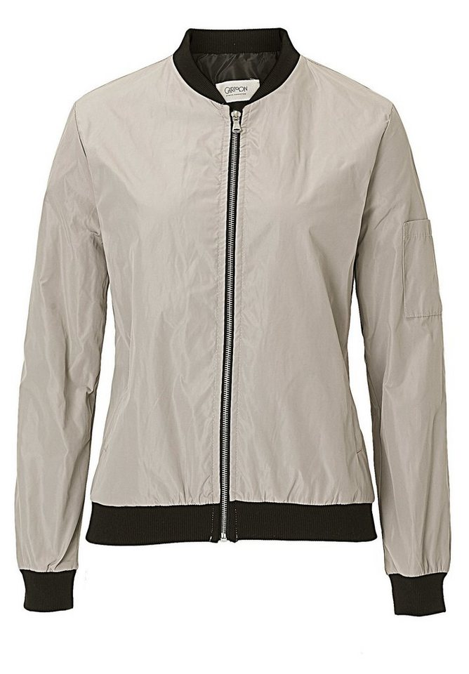 Cartoon Jacke in Taupe - Braun