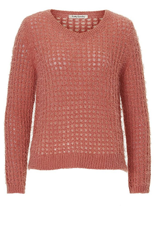 Betty Barclay Strickpullover in coral - Bunt