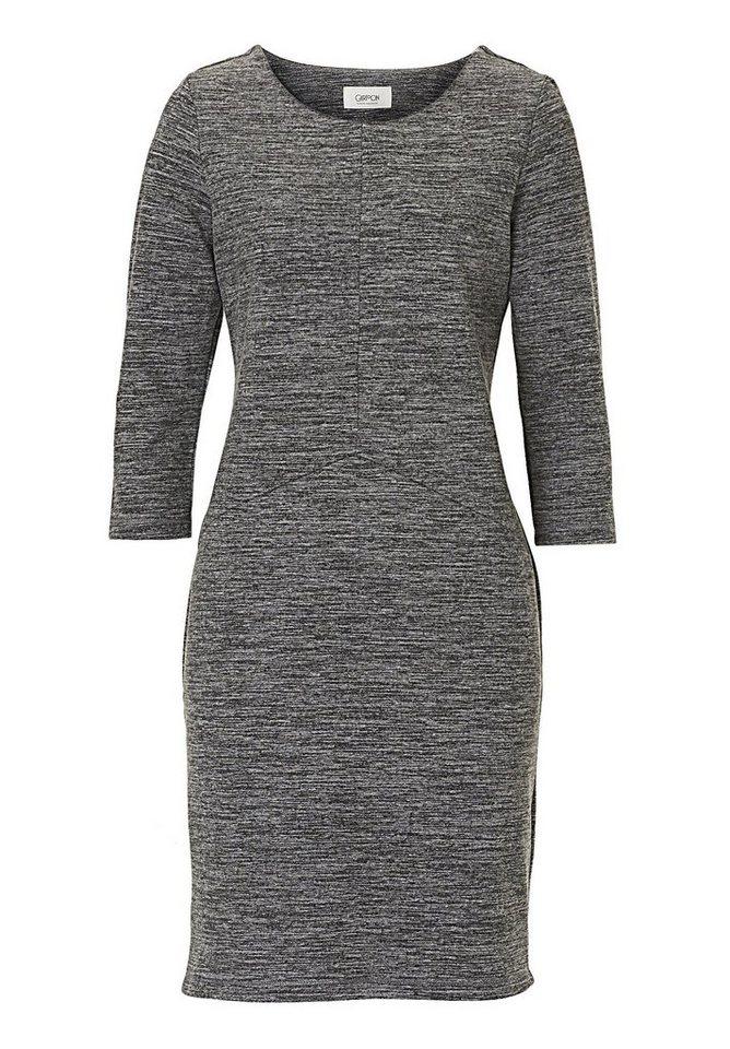 Cartoon Kleid in Grey/Nature - Grau