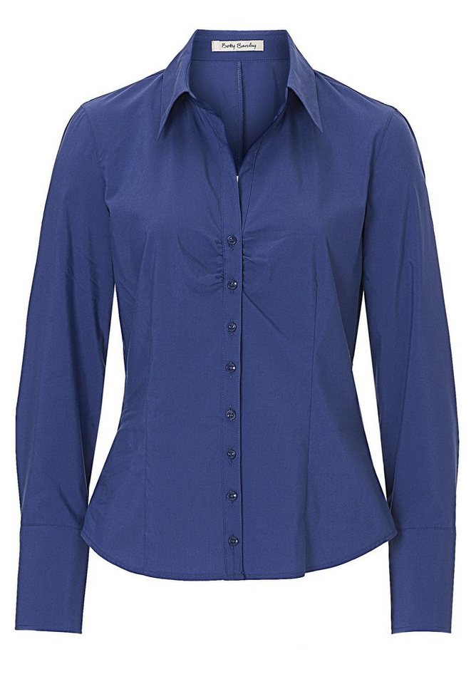 Betty Barclay Bluse in Dunkelblau - Bunt