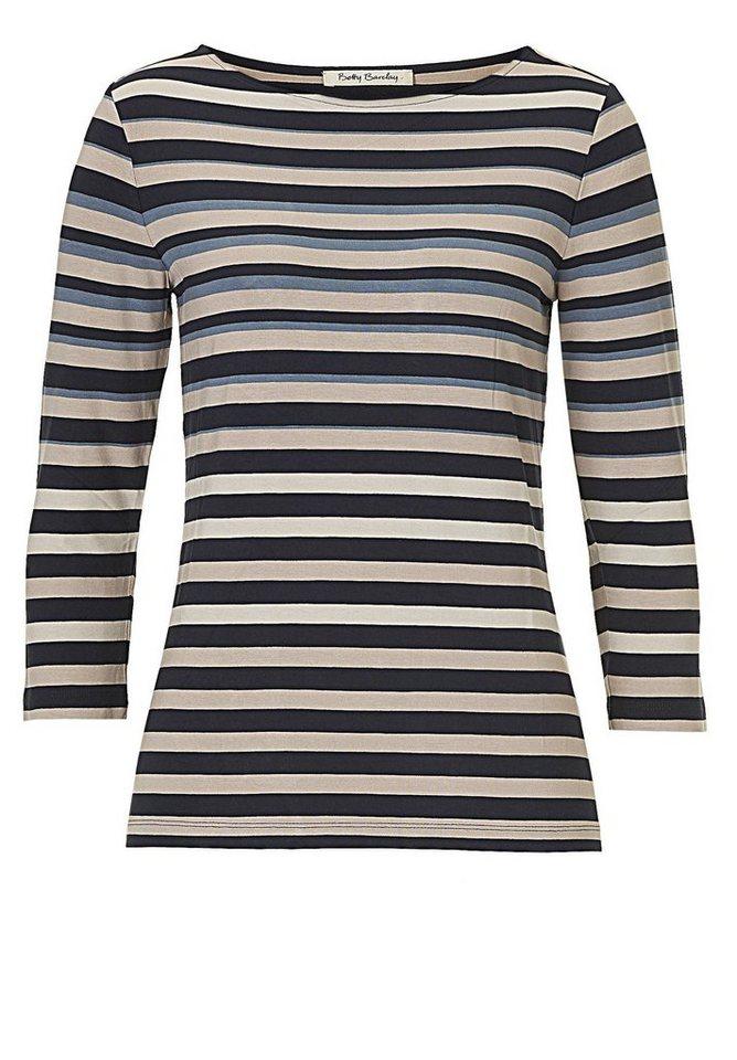 Betty Barclay Shirt in Beige/Blau - Bunt