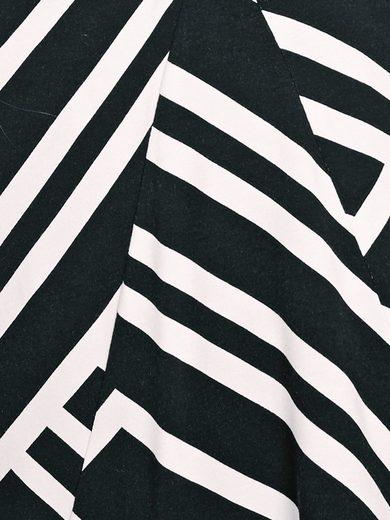 ASHLEY BROOKE by Heine Bodyform-Druckshirt mit Zierschließe