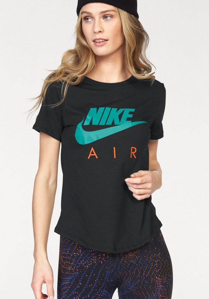 Nike Rundhalsshirt »NIKE TEE-AIR CREW« in schwarz