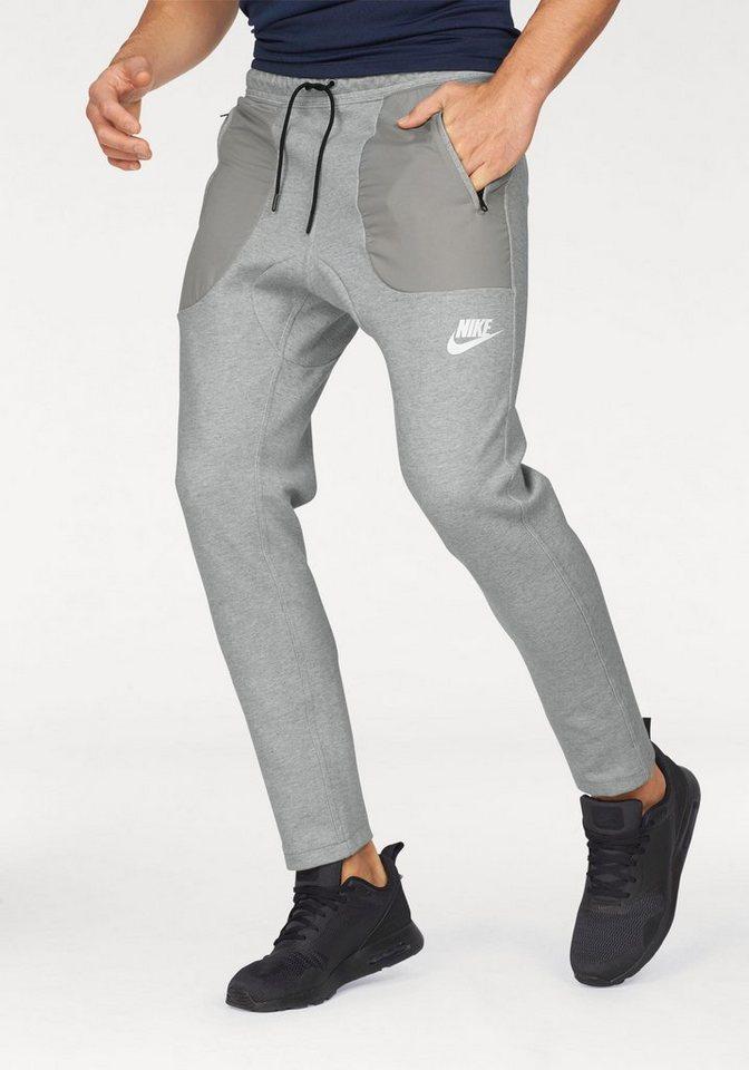 Nike Jogginghose »NSW PANT FLEECE SSNL« in grau