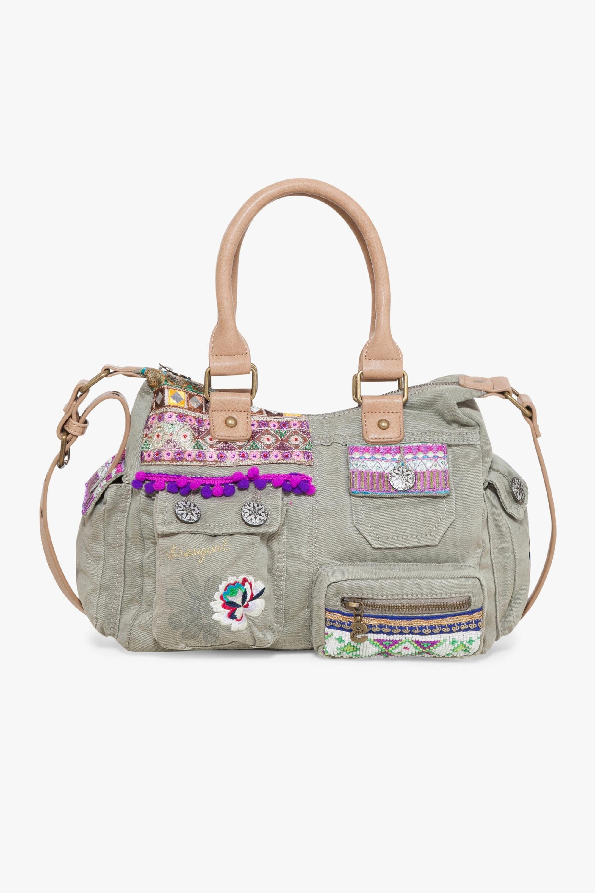 Desigual Henkeltasche »LONDON MINI MILITARY LUXE«