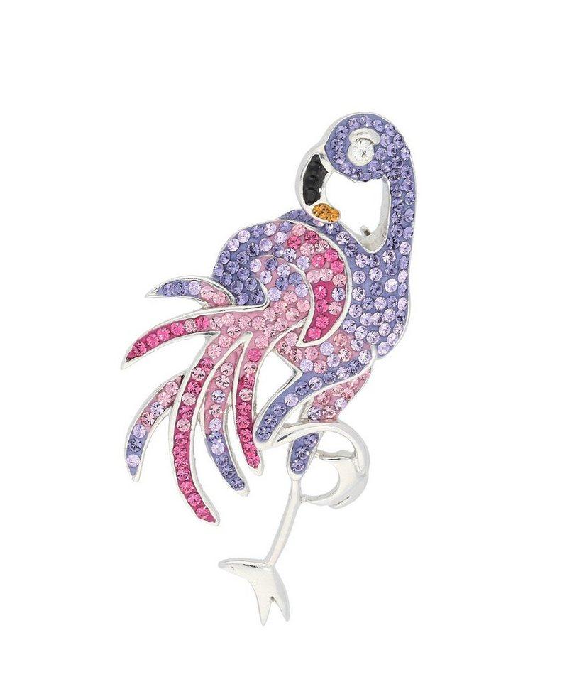 Firetti Brosche »Flamingo« mit Swarovski Elementen in Silber 925