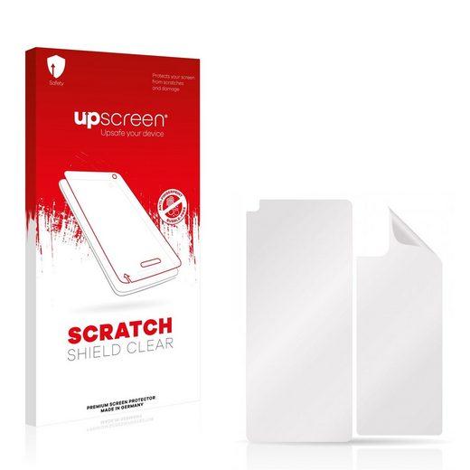 upscreen Schutzfolie »für Motorola Moto G9 Plus (Vorder + Rückseite)«, Folie Schutzfolie klar anti-scratch