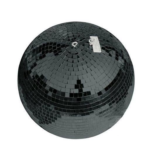 SATISFIRE Discolicht »Spiegelkugel 40cm - schwarz - Safety - Diskokugel Echtglas - 10x10mm Spiegel PROFI«