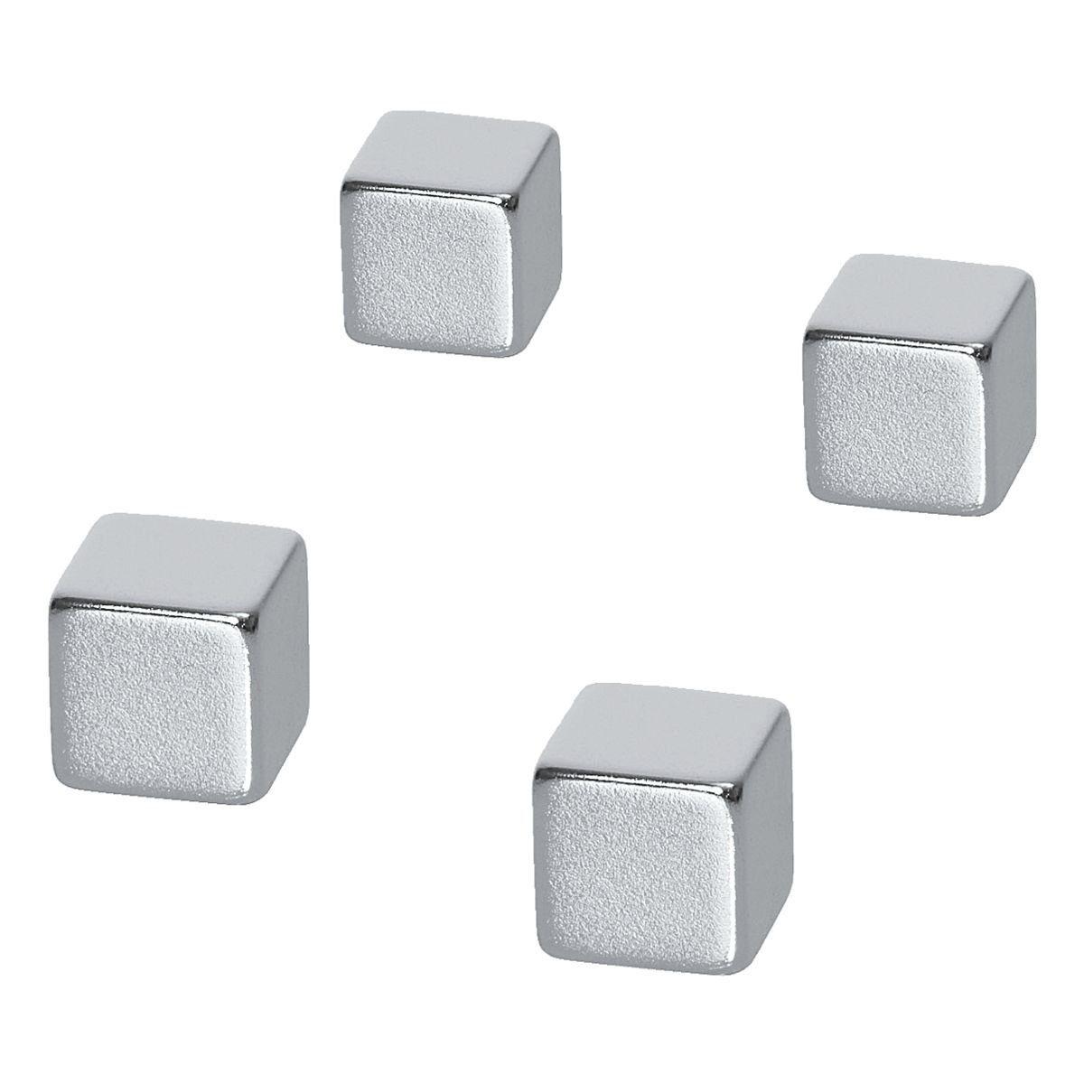 BEBOARD 4er-Set Magnetwürfel »Neodym Magnete Cube«