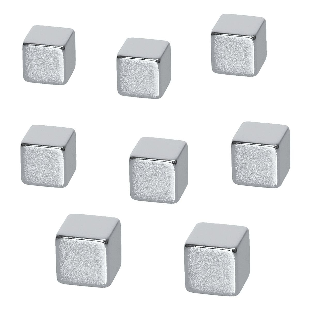 BE!BOARD 8er-Set Neodym Magnete B3101 »Cube«