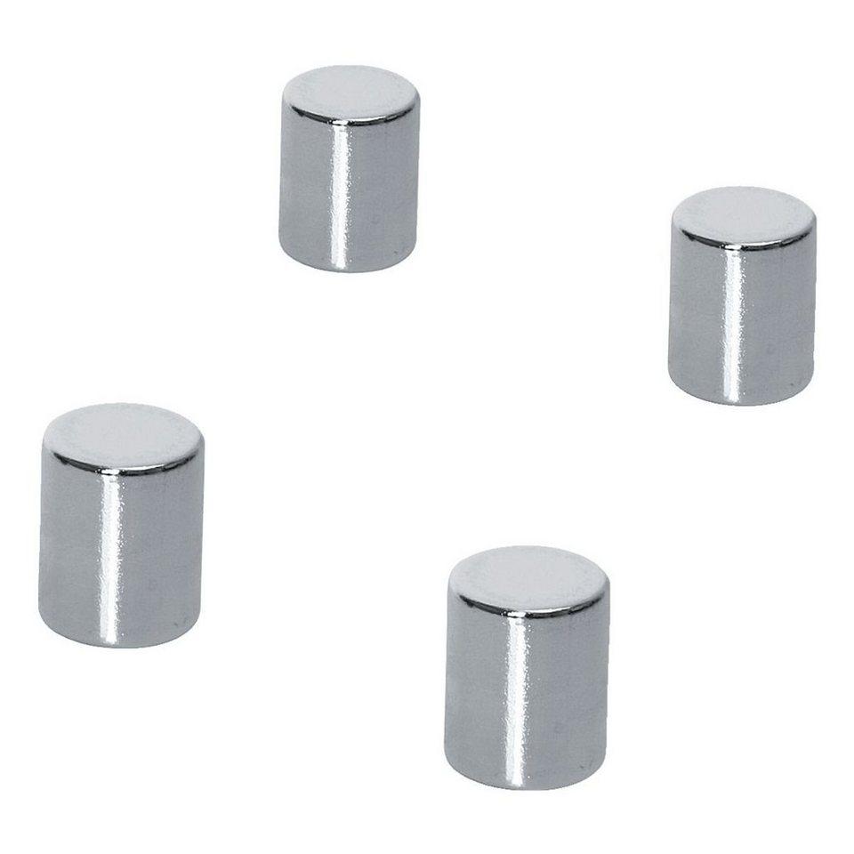 BEBOARD 4er-Set Magnetwürfel »Neodym Magnete Zylinder«
