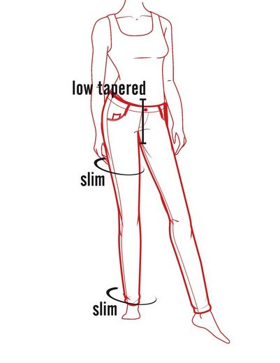 TIMEZONE Hosen lang SueTZ fashion pants
