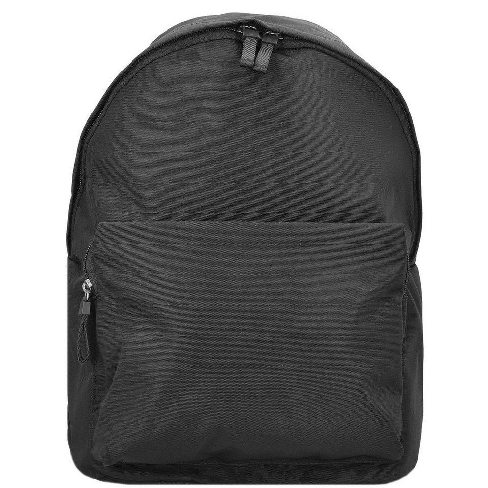 Leonhard Heyden Leonhard Heyden Soho City-Rucksack 38 cm Laptopfach in black