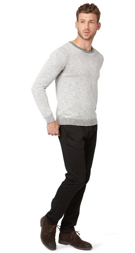 TOM TAILOR Hose »schlichte Chino« in black