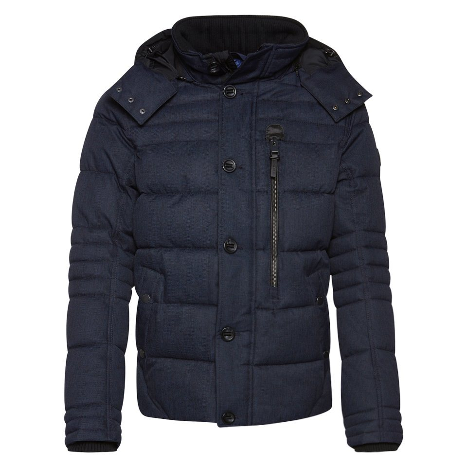 TOM TAILOR Jacke »wasserabweisende Winterjacke« in true dark blue