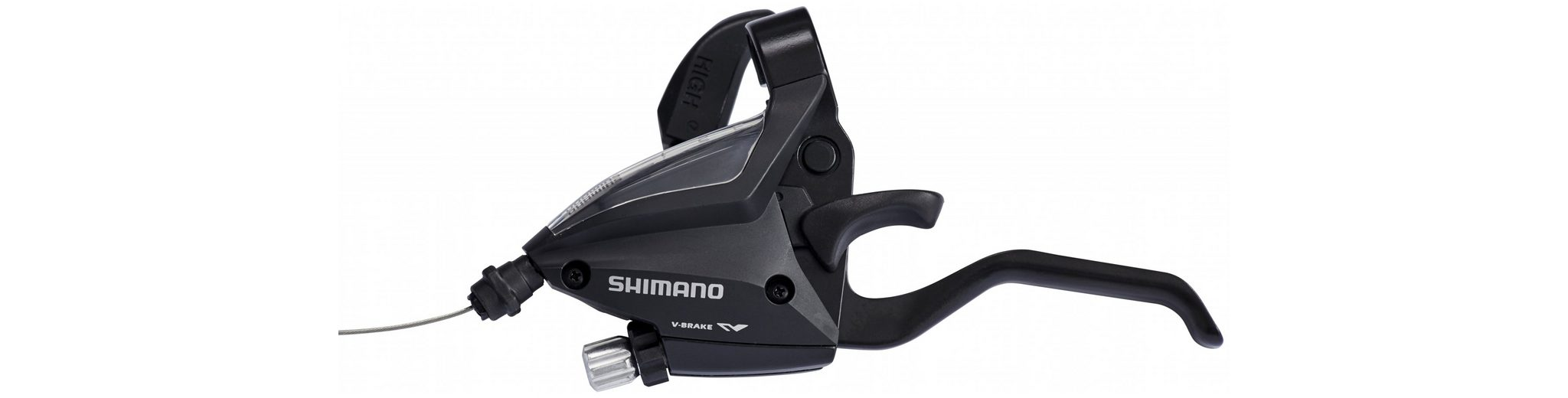Shimano Schaltung »ST-EF500-2 Schalt-/Bremshebel VR 3-fach«