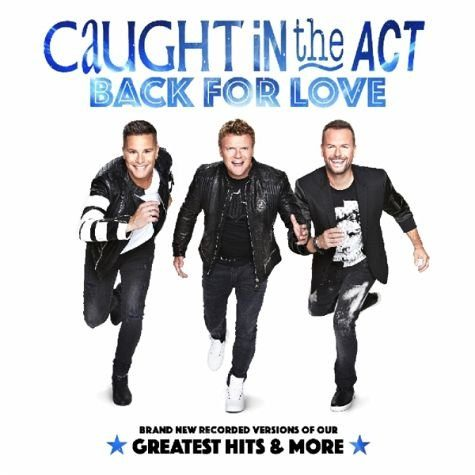 Audio CD »Caught In The Act: Back For Love«
