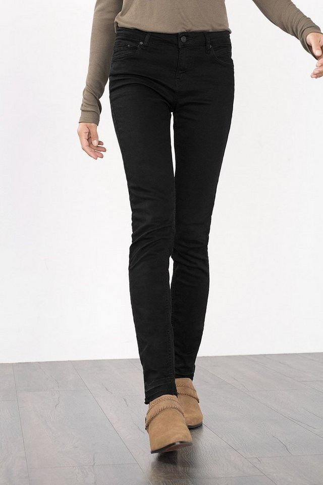 ESPRIT CASUAL Skinny-Jeans im Five-Pocket-Stil in BLACK RINSE