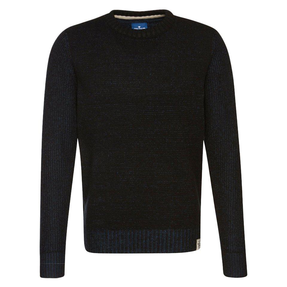tom tailor pullover pullover mit details kaufen otto. Black Bedroom Furniture Sets. Home Design Ideas