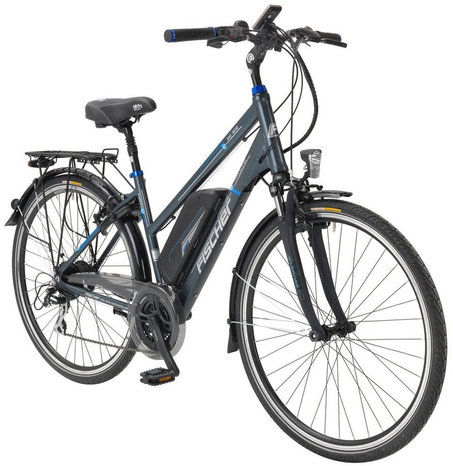 fischer fahrraeder e bike trekking damen etd 1616 28 zoll 24 gang heckmotor 418 wh online. Black Bedroom Furniture Sets. Home Design Ideas
