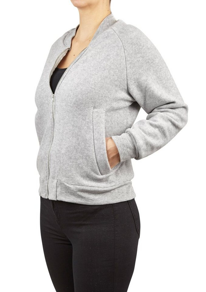 Rockamora Sweatshirt »Trille« in grau