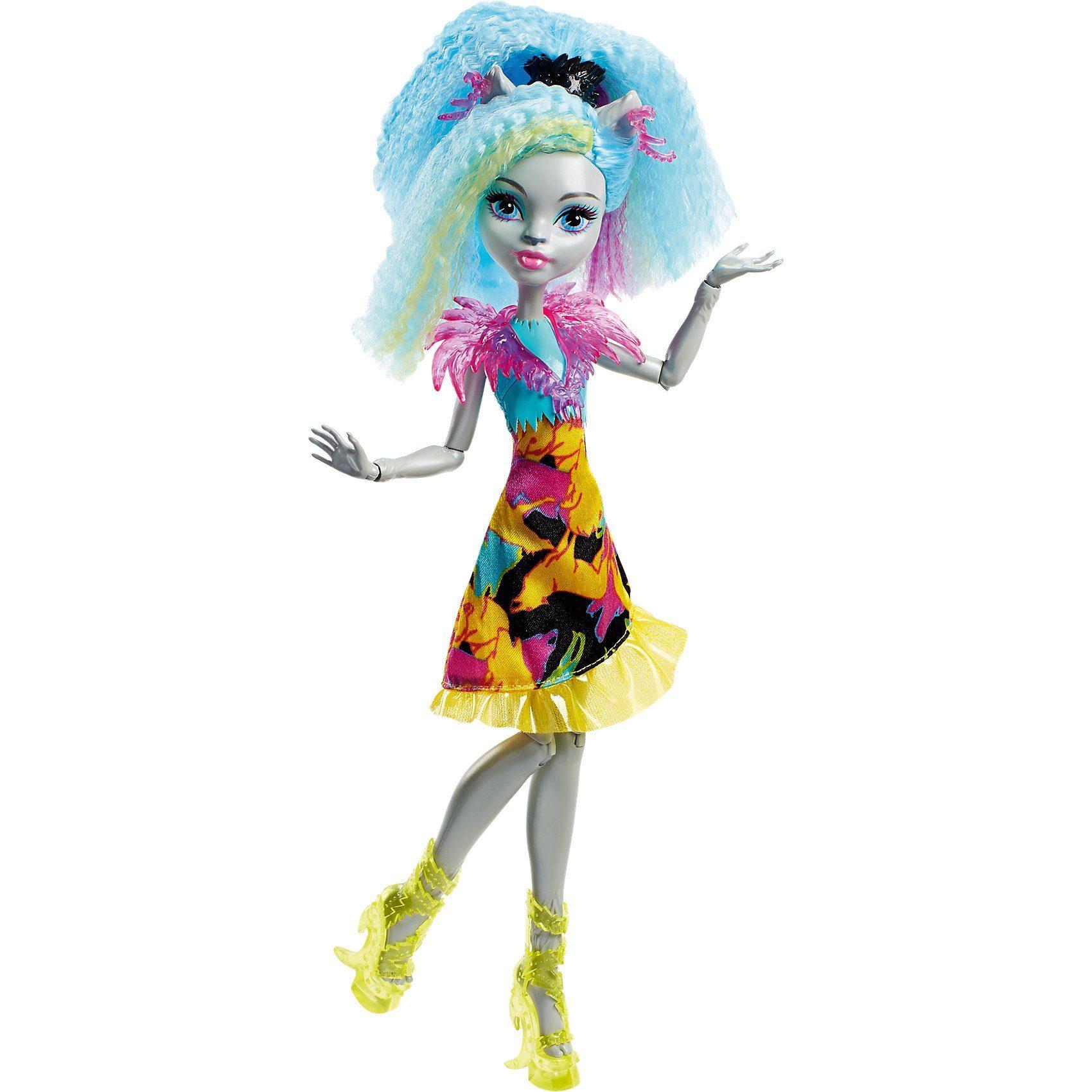 """Mattel® Monster High """"Elektrisiert"""" Silvi Timberwolf"""