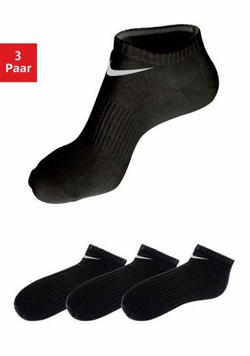 Nike Sneakersocken (3-Paar) mit Mittelfußgummi
