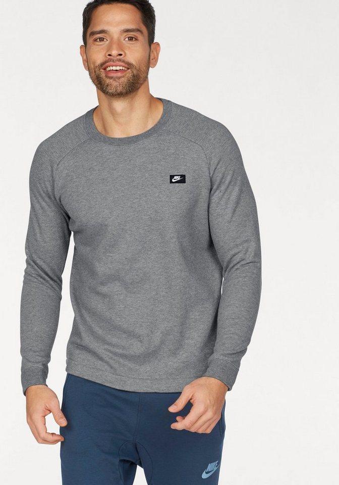 Nike Sweatshirt »MEN NSW MODERN CRW FT« in grau