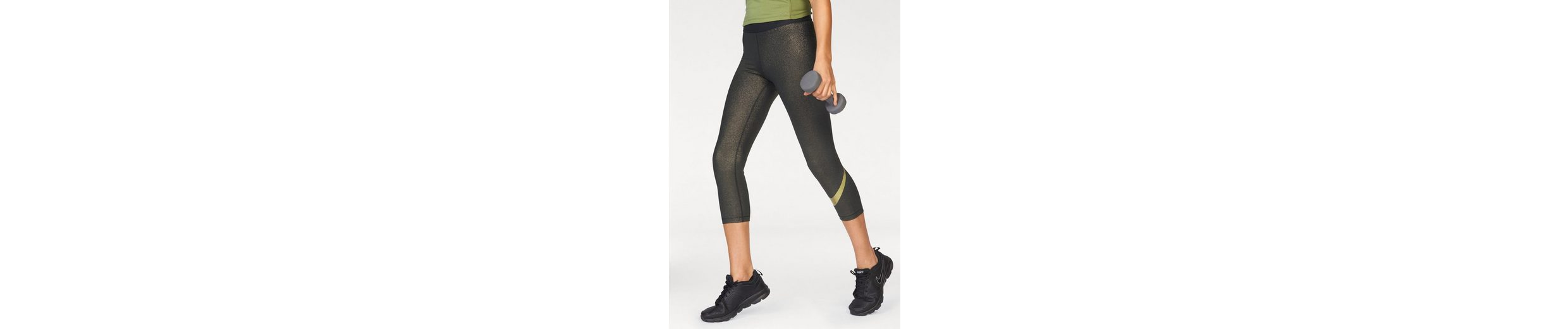 Nike Funktionstights NIKE PRO CAPRI GOLD