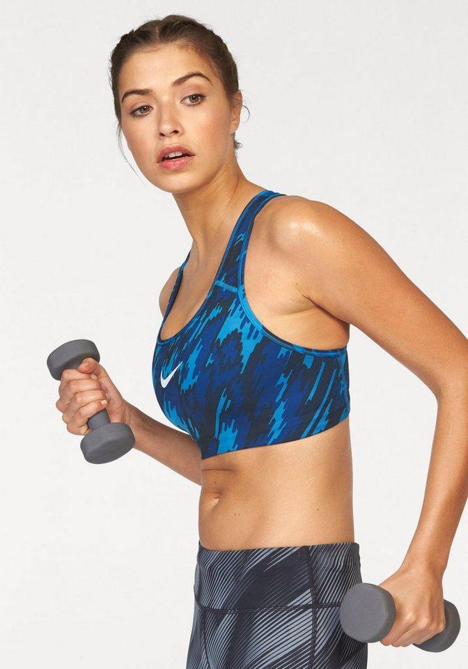 Nike Sport-BH »NIKE PRO CLASSIC PAD BRA OVERDRIVE« in blau