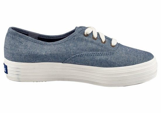 Keds Triple Seasonal Solid Plateausneaker