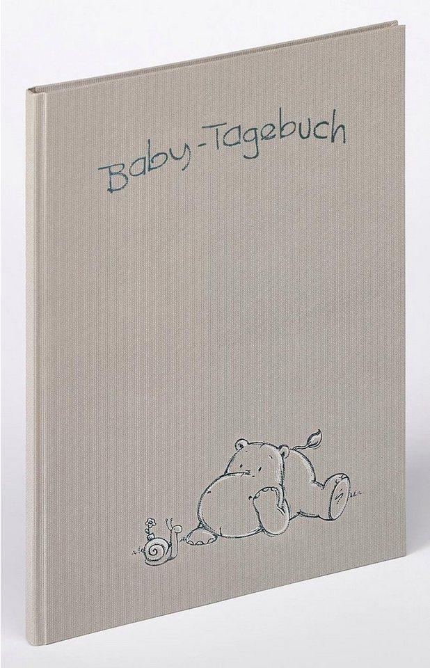 Home affaire Baby-Tagebuch »Madu« in grau
