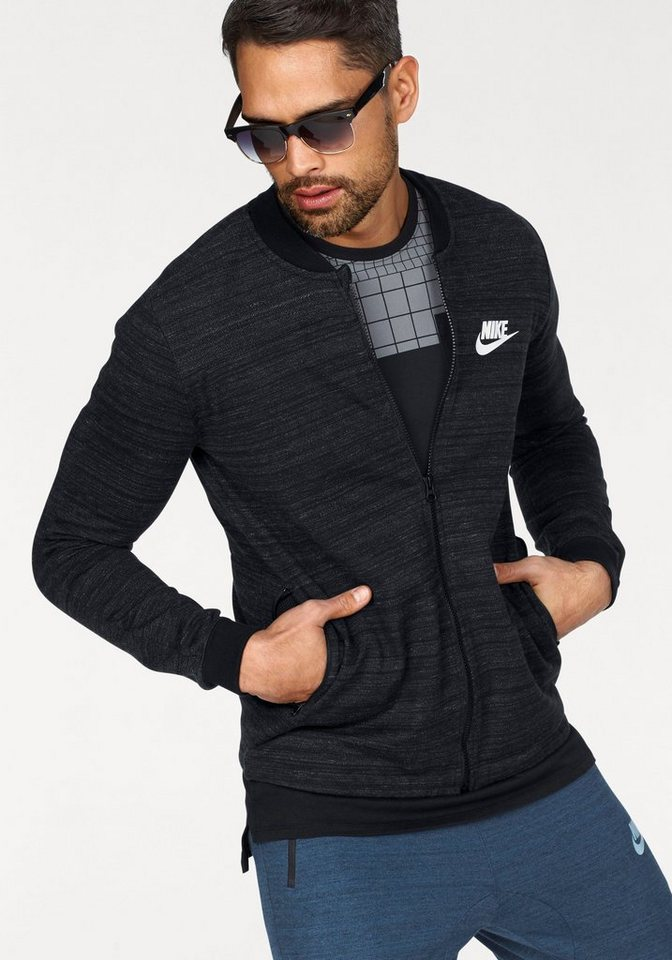 nike sportswear sweatjacke men nsw av15 jacket knit. Black Bedroom Furniture Sets. Home Design Ideas