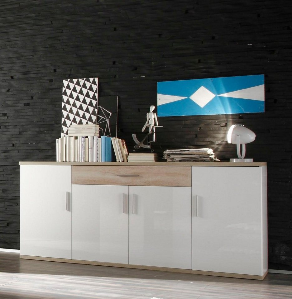 trendteam sideboard arena breite 180 cm kaufen otto. Black Bedroom Furniture Sets. Home Design Ideas