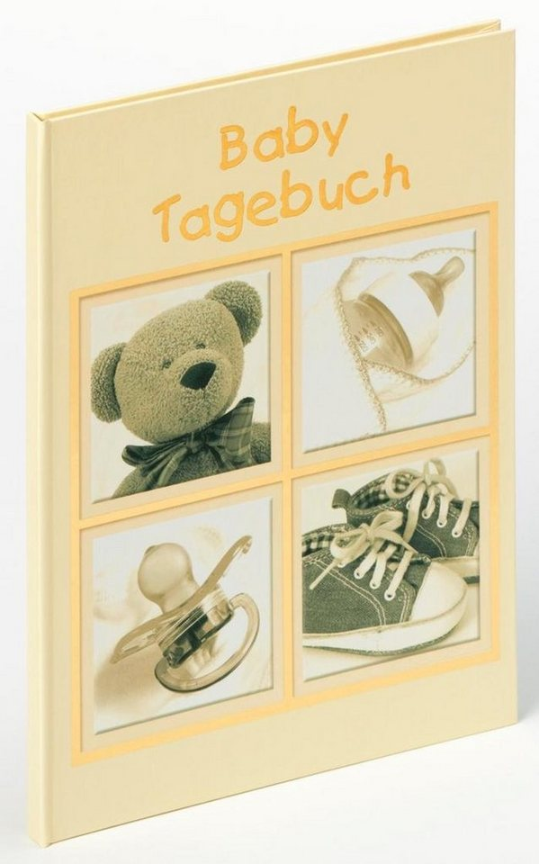 Home affaire Baby-Tagebuch »Sweet Things« in creme