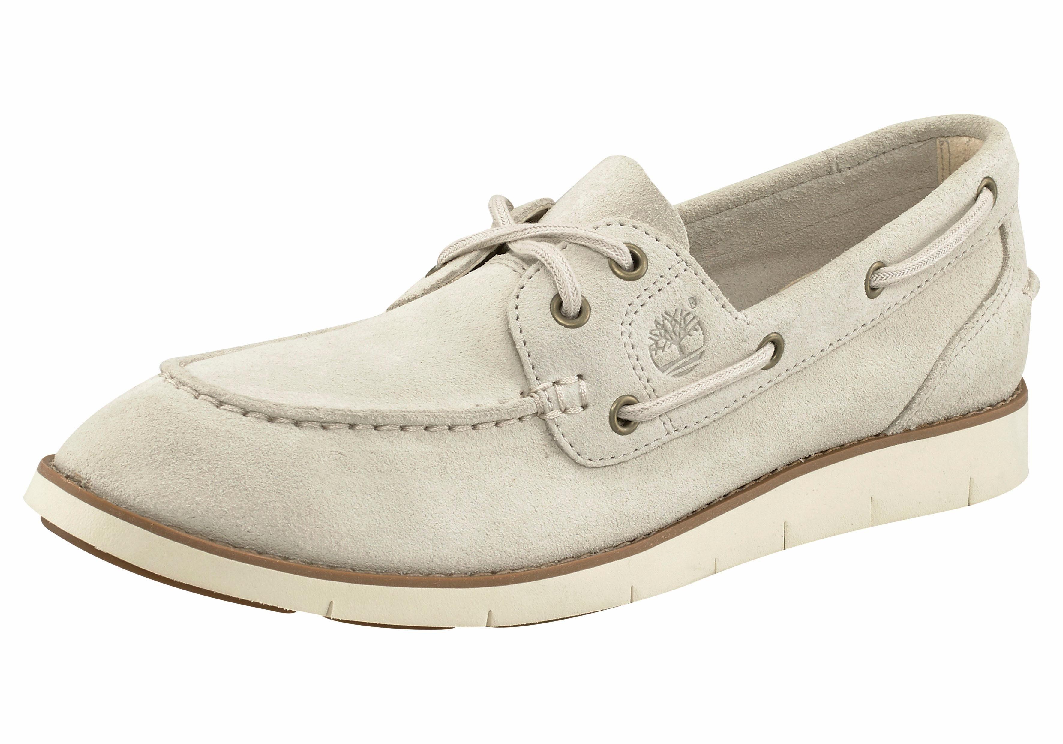 Timberland »Lakeville 2-Eye Boat Shoe« Bootsschuh, beige, 40 40