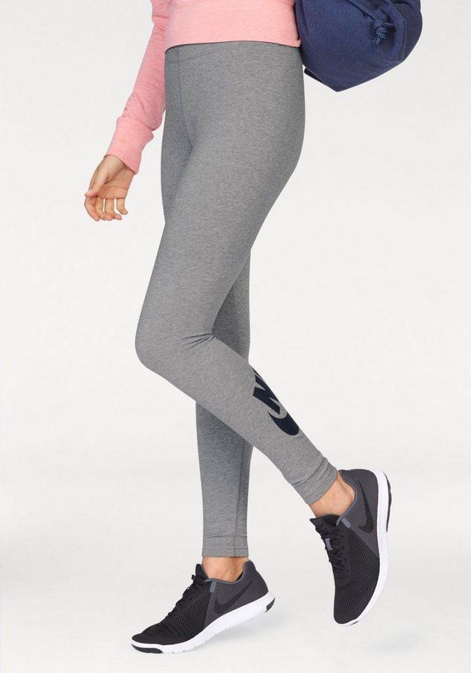 Nike Leggings »LEG-A-SEE LOGO« in grau-meliert