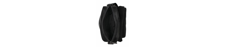 camel active Umhängetasche KANSAS, Crossbody Bag aus hochwertigem Leder