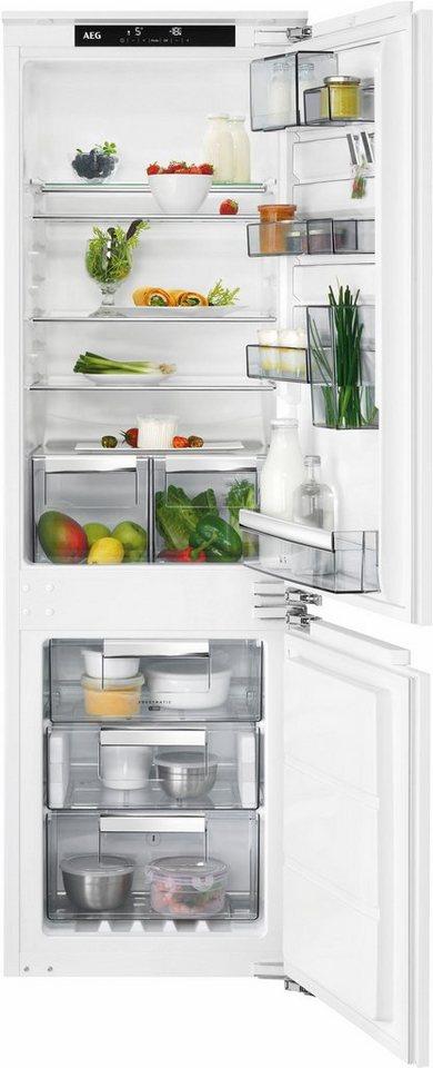 AEG integrierbarer Einbaukühlschrank SANTO SCE81824NC, Energieklasse A++, 176,9 cm hoch in weiß
